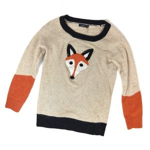 Anthropologie THML Foxy Lady Sequin Sweater